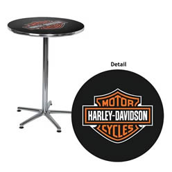 Harley-Davidson® Bar & Shield Pub Table
