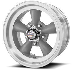 American Racing VN1055873 - American Racing VN105D Torq-Thrust D Gray Wheels