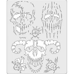 Anest Iwata Freehand Airbrush Painting Templates FH-SK11 - Free ...