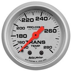 AutoMeter 4351 - AutoMeter Ultra-Lite Analog Gauges