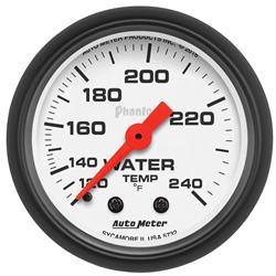 AutoMeter 5732 - AutoMeter Phantom Analog Gauges