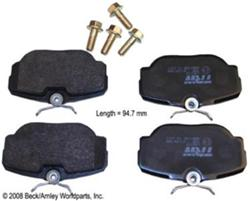 Stop By Bendix SBM278 Brake Pads