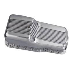 Oil Pans Saab >> Cal Custom™ Finned Aluminum Oil Pans CAL-188445 - Free Shipping on Orders Over $99 at Summit Racing