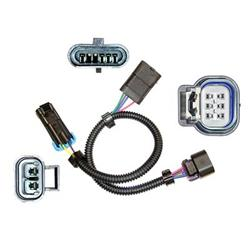 caspers electronics 108115 - caspers electronics gm ls2 throttle body wiring  harness adapters