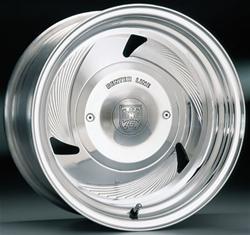 Center Line Billet Series Fluted Hawk Polished Wheels