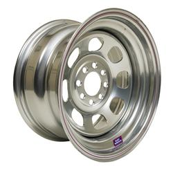 Bart Wheels Economy Modified Standard Weight Silver Wheels 5335825-4