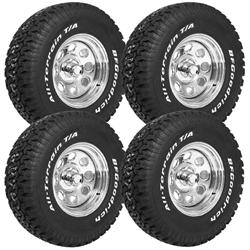 Summit Racing 16-0002 - Summit Racing® Wheel and Tire Pro Packs
