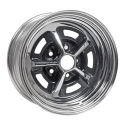 Magnum 500 Wheels >> Coker Magnum 500 Chrome Wheels With Black Accents M50158 Free