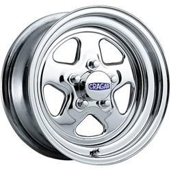 Cragar Chrome Street Star Wheels 3415834 Free Shipping