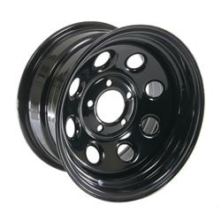 Cragar Soft 8 Black Wheels 3975812 Free Shipping On