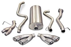 Corsa Performance Exhaust 14893 - Corsa Performance Exhaust Sport Exhaust Systems