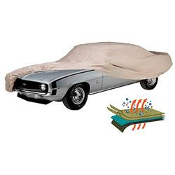 Technalon Evolution Fabric, Tan Covercraft Custom Fit Car Cover for Chevrolet and Pontiac C12731TK