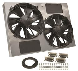 Derale Cooling Products 16927 - Derale High-Output Dual RAD Fan and Shroud Kits