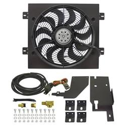 derale cooling products 20161 - derale jeep wrangler direct-fit fan kits