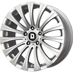 Drag Wheels DR431885064073S1 - Drag Wheels DR-43 Silver Wheels