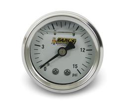 Earl's Performance 100189ERL - Earl's Performance Analog Fuel Pressure Gauges