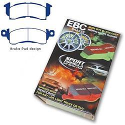 EBC S4KR1153 Stage-4 Signature Brake Kit EBC Brakes