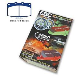 EBC Brakes DP41541R Yellowstuff Street and Track Brake Pad