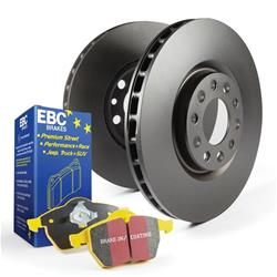EBC Brakes S12KR1326 S12 Rear Kits Redstuff and RK Rotors-Auto Version of S14 Rear Kits