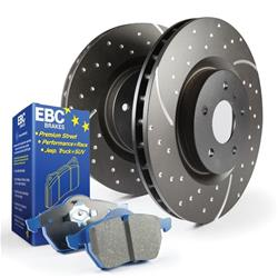 EBC Brakes S6KR1111 - EBC Stage 6 Trackday Disc Brake Kits