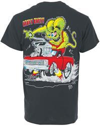 Chevy T Shirts >> Rat Fink Heavy Chevy T Shirt Hc3x