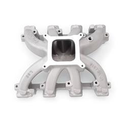Edelbrock 28457 - Edelbrock Victor Jr. Carbureted Intake Manifolds