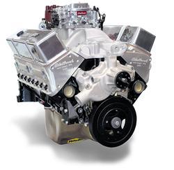 Edelbrock Performer RPM 350 C I D  410 HP Long Block Crate Engines 45610