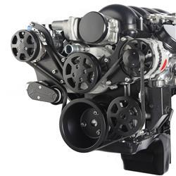 Eddie Motorsports MS107-60MB - Eddie Motorsports Elite S-Drive Serpentine Pulley Drive Systems