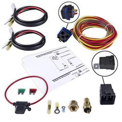 Frostbite Fan and Shroud Electric Relay Kits FB403 - Free Shipping on relay switch, relay coil, relay computer, relay lights, relay connections, relay parts,