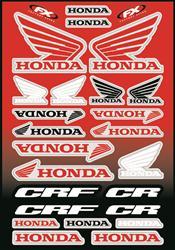 10-68002 Sponsor//Logo Sticker Sheet Factory Effex