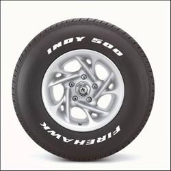 Firestone Firehawk Indy 500 Tires 118 656   Free Shipping on