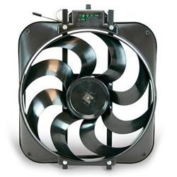Flex-A-Lite Black Magic Xtreme Series Electric Fans 160 - Free ... on radiator fan diagram, msd wiring diagram, black magic radiator fan, rails wiring diagram,