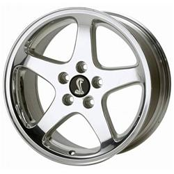 Toyota Arlington Tx >> Ford Performance Parts Polished 1999 Mustang Cobra Wheels M-1007-G178 - Free Shipping on Orders ...