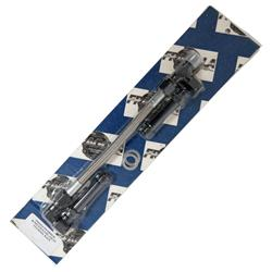 Fragola 920006-BL Black Size x 9//16-24 Dual Inlet Demon Fuel Line Kit -6