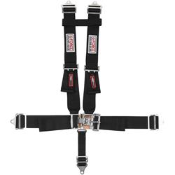G-FORCE Racing 6030BK - G-FORCE Latch and Link H-Type Harness Sets