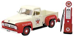 Scale Texaco  Ford F  Pickupcast Model With Gas Pump