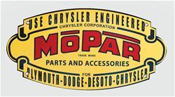 1937 Mopar Emblem Steel Sign Free Shipping On Orders