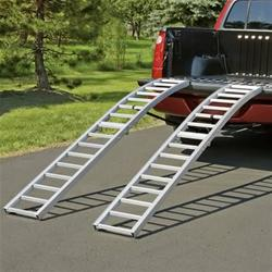 Aluminum Atv Ramps >> Highland Folding Aluminum Ramps 1123100