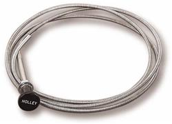 holley manual choke control cables 45 228 free shipping on orders rh summitracing com manual choke cable kit manual choke cable install