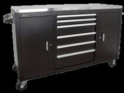 Homak Toolbo Bk04060064 60 In Xl Series Stainless Steel Rolling Cabinets