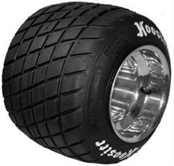 Hoosier Racing Tire 11920D10A - Hoosier Dirt Oval Treaded Kart Tires