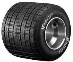 Hoosier Racing Tire 11960D10A - Hoosier Dirt Oval Treaded Kart Tires