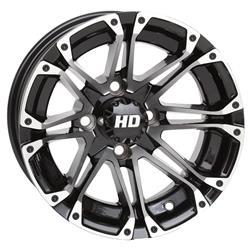 STI Tire and Wheel 12HD303 - STI HD3 Machined Gloss Black HD Alloy Wheels