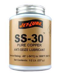 Jet-Lube 12502 - Jet-Lube SS-30 Pure Copper Anti-Seize