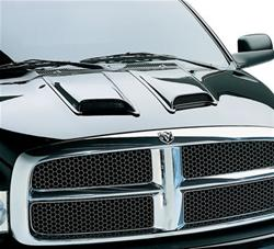 Lund Industries 80002 - Lund Industries Eclipse Hood Scoops