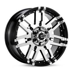 Mamba Wheels M-22963B-0 - Mamba Off-Road Alloys Type M2 Black Wheels