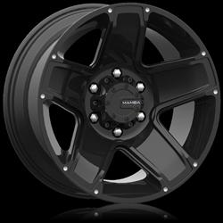 mamba off road alloys type m13 black wheels m13686813b free
