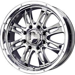 MB Wheels 168GU8865-6C - MB Wheels Gunner 8 Chrome Wheels