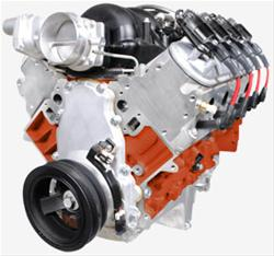 BluePrint Engines PSLS4272CTF - BluePrint Engines Pro Series Chevy LS 427 C.I.D. 625HP EFI Retrofit Dressed Crate Engines