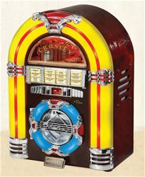 Summit Gifts CR1101A-CH - Crosley Jukebox CD